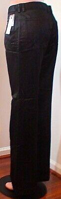 NWT DKNY Black Jean Style Pant Modern Sz 12 & 14 Retail $278 Stunningly -