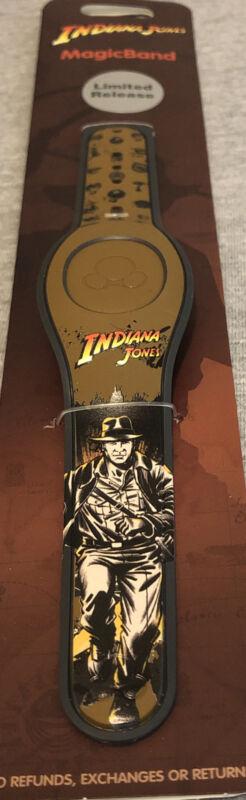 Disney Parks Unlinked Magic Band Indiana Jones LR