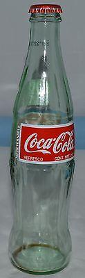 Coca-Cola Green Tint Glass Bottle / Mexico/ 355 ml /Empty /Original Cap REFRESCO