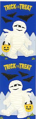 Mrs. Grossman's Stickers - Mummy - Trick or Treat Halloween - Bats - 4 - Mummies Halloween