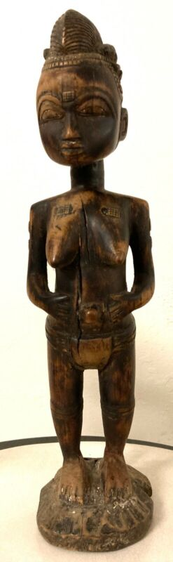 Beautiful Old African Art Statue