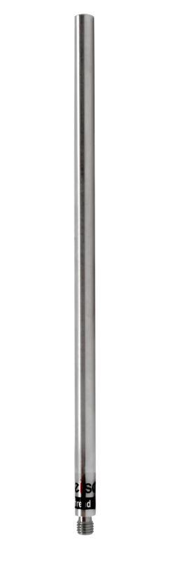 "Retort Stand Rod, 12"" - 12mm Dia. - 10x1.5mm Thread - Eisco Labs"