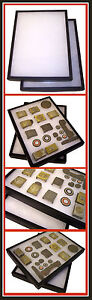 1-Display-Case-Deeper-For-WWII-German-US-British-Buckle-Medal-Badge-Helmet-Plate