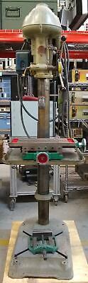 Walker Turner 5k204a1028 Vintage Floor Model 3 Phase 220v Drill Press 34 Hp