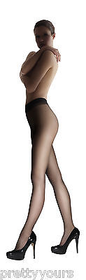 New Womens Luxury Sheer Fashion Tights for Girls 15 Denier Size S M L XL (Sheer Tights For Girls)
