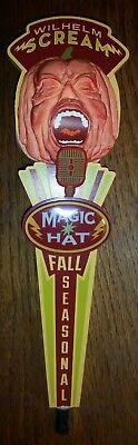 NEW Magic Hat Wilhelm Scream Beer Tap Handle pumpkin halloween october](Halloween Pumpkin Beer)