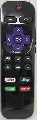 New Remote Ns Rcrus 17 For Insignia Roku Led Tv Netflix Sling Hulu Google Play