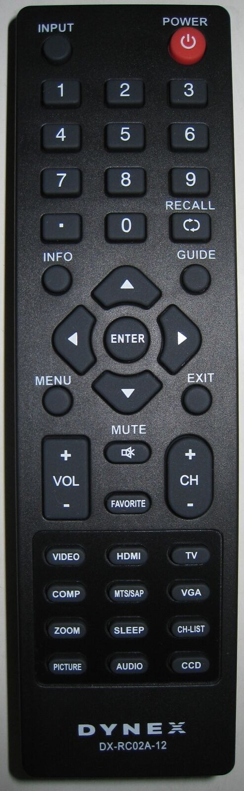 Brand New Original DX-RC02A-12 LCD TV Remote Control For DYN
