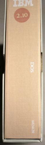 IBM Disk Operating System DOS Vrs 2. 1 1983 Includes Software Ships Worldwide