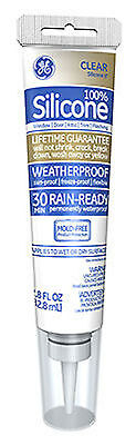 Momentive Perform Material Silicone Ii Window   Door Caulk  Clear  2 8 Oz