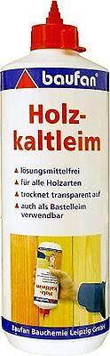 Lösung Holz (1kg Holzkaltleim Holzleim Kaltleim lösungsmittelfrei Leim Kleber Bastelleim)
