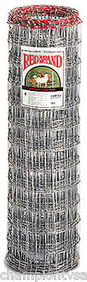 Red Brand 48h X 100l 4 X 4 Mesh Galvanized Sheep Goat Fencing 180807