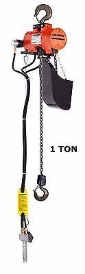 Cmco - Airstar Air Chain Hoist - Pendant Control Top Hook 1 Ton Capacity