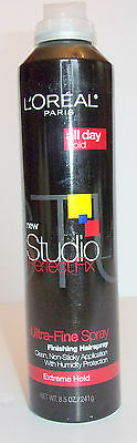 Loreal Studioline Perfect Fix Ultra Fine Finishing Hairspray Extreme Hold 8 5Oz