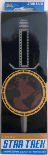 Star Trek Terran Empire Dagger Letter Opener SDCC 2019 Exclusive Icon Heroes New