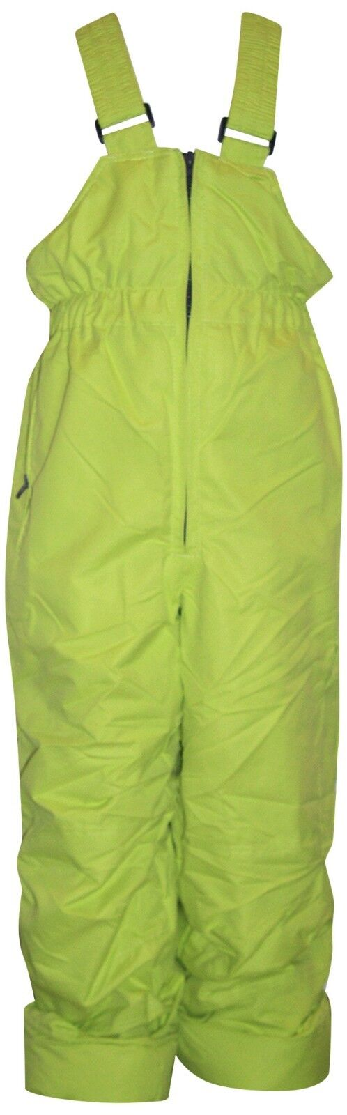 NEW Pulse Girls or Boys Ski Snow Bibs L 7 Pants Lime Insulat