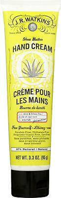 J.R. Watkins Hand Cream with Shea and Cocoa Butters, Aloe &