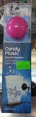 Candy Music Sound System - NEW 218-549