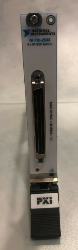 National Instruments PXI 2533 High-Density 4x64 Matrix Switch Module