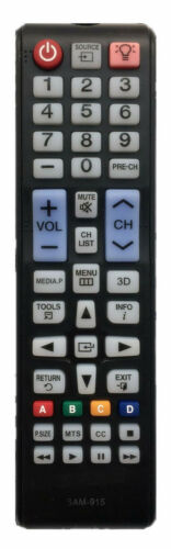 New Usbrmt Tv Remote Control For Samsung Lcd Led Tv With All Backlit Buttons