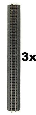 Roco Line H0 mit Bettung 42506  3 Stück! gerades Gleis G4 je Länge 920mm NEU OvP 4 Line Analog