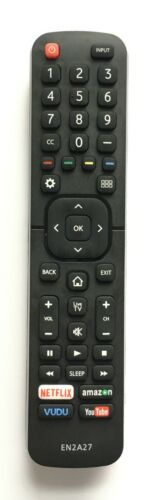 New Usbrmt Tv Remote En2a27 For Hisense Smart Tv 50h7050d 55h6d 60du6070 65h6d