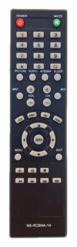 New Remote Control Ns-rc6na-14 For Insignia Tv Ns-58e4400a14 Ns-60e4400a14
