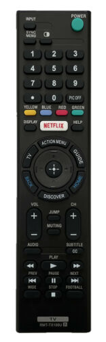 New Universal Replacement Remote Control for All Sony TV Bravia Smart TV