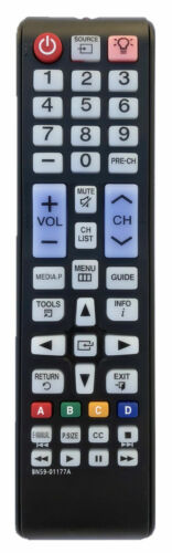 New Samsung Replacement Remote Bn59-01177a For Samsung Smart Tv Backlit Buttons