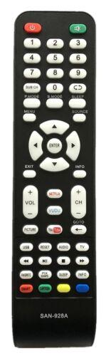 New Remote San-928 For Sanyo Led Lcd Tv Dp37840 Dp42840 Dp46840  Dp50740