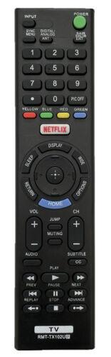 New Tv Remote Rmt-tx100u/102u For Sony Kdl-65w850c Kdl-55w800c Xbr-65x850c