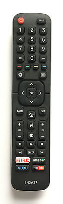 New Hisense Replacement Remote EN2A27 for Hisense SMART LED TV