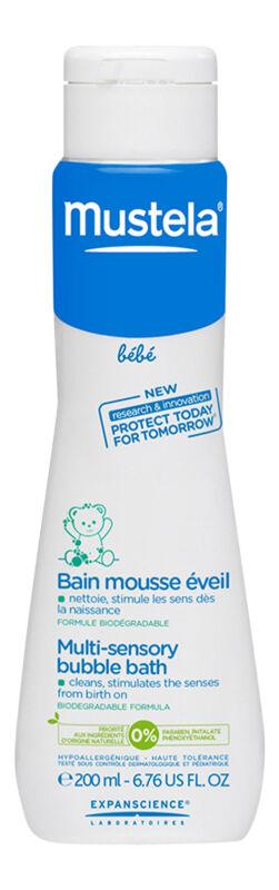 Mustela Multi Sensory Bubble Bath 6.7 oz 200 ml. Baby Shampoo & Soap