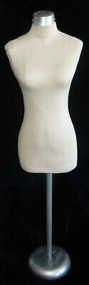 Vtg Dress Rite Forms Mannequin Half Scale Dress Miniature Clothes Mini Fashion