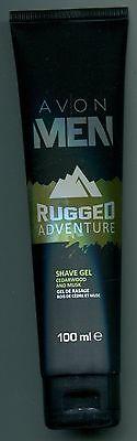 (100 ml = 7,50 €) Avon - Men - Rugged Adventure - Rasiergel