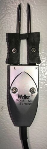 Weller WXMT MS SET Micro Desoldering Tweezers, Tip and Stand Are Included.