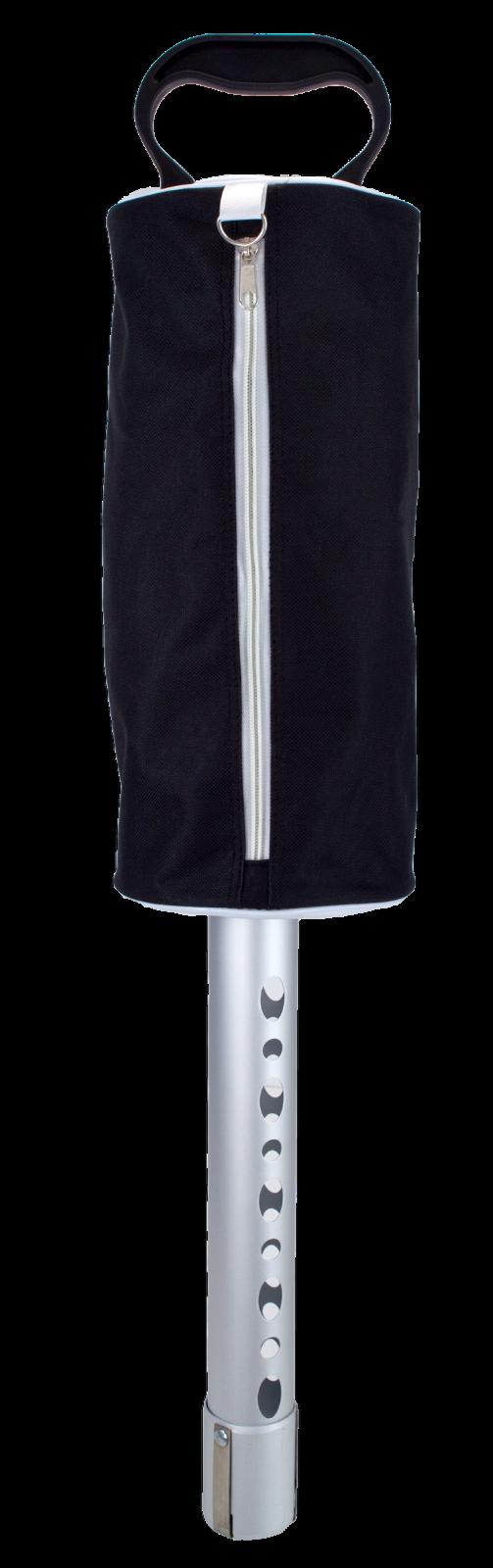 ProActive Sports Golf Ball Shag Bag with Aluminum Tube & Zip