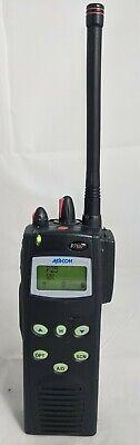 Ma-com Harris P7100 Vhf 136-174 P25 Digital Radio With Encryption Aes Des