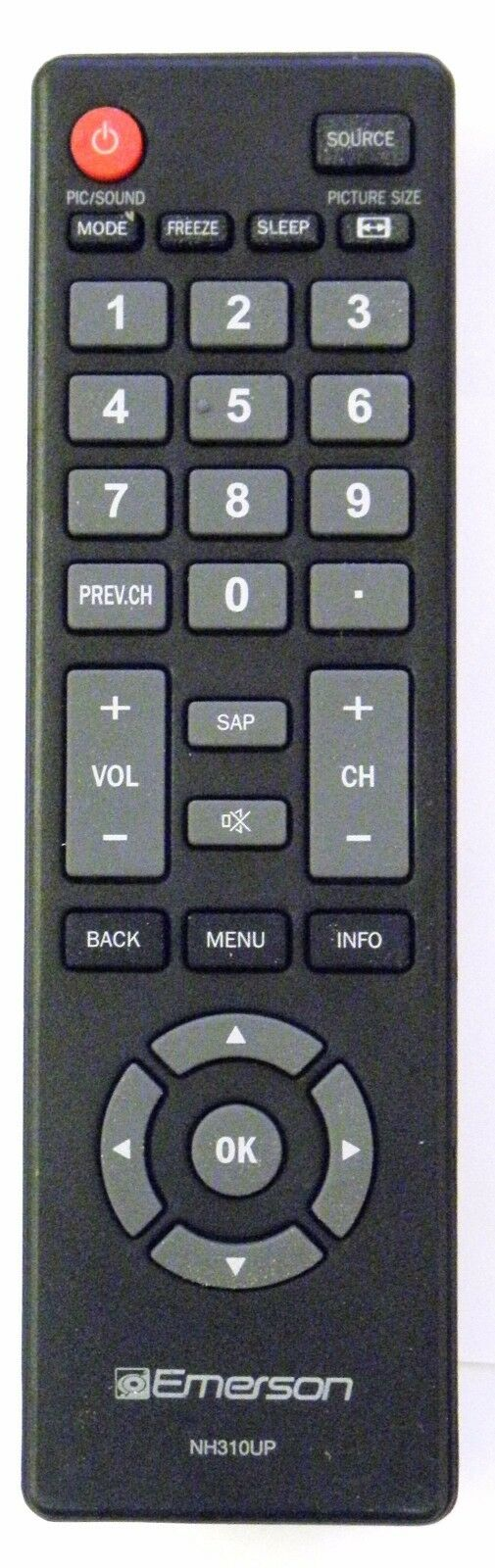 EMERSON NH310UP TV Remote Control - Brand New Original Emers