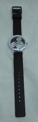 Disney Armbanduhr Uhr Mckey Mouse Disneyland Paris schwarz (Disney Armband)
