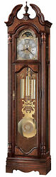 Howard Miller 611-017 (611017) Langston Grandfather Floor Clock - Windsor Cherry