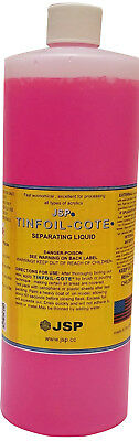 Jsp Tin Foil-cote Separating Liquid 32oz 946mltin Foil Substitute De116