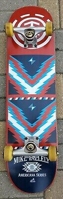 RARE MIKE VALLELY ELEMENT AMERICANA SERIES SKATEBOARD SWEET GRAPHICS! ONLY ONE!!