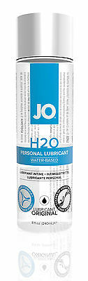 System Jo H2O Lube Water Based Personal Sex Lubricant 8 oz