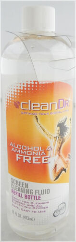 16 OZ HUGE Bottle CleanDr Clean Dr Screen Electronic Device Cleaner Fluid Liquid