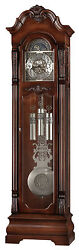 Howard Miller 611-102 (611102) Neilson Grandfather Floor Clock - Rustic Cherry