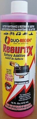 Golf Cart Battery Additive Refurbish Duo Regen LIQUID 6,8,12,24,36,48 (Battery Additive)