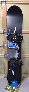 Sapient Alive 156 Snowboard and Technine bindings