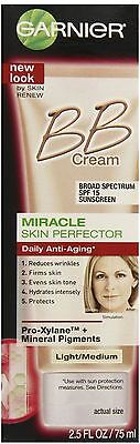 Garnier Skin Renew Miracle Anti Aging Bb Cream Spf 15 Light Medium 2 50 Oz