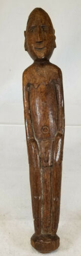 Antique Pacific Island Oceanic Fiji Philippines Carved Wood Ancestor Figure